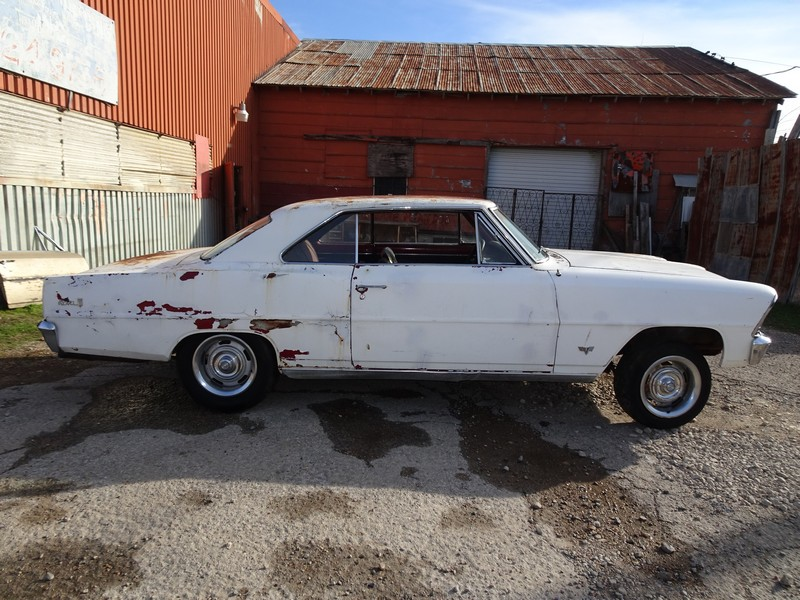 1967 CHEVY NOVA 2DR HT PROJECT - Petes Classic Cars